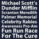 Michael Scott's Fun Run (small logo) by talkpiece