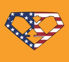 Super American X Logo by TheGraphicGuru