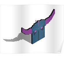 Pekka 3D pixel Poster