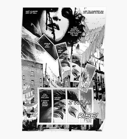 Faith Fallon Graphic Novel Page © Steven Pennella Poster