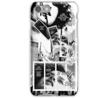 Faith Fallon Graphic Novel Page © Steven Pennella iPhone Case/Skin