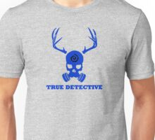True Detective - Gas Mask - Blue Unisex T-Shirt