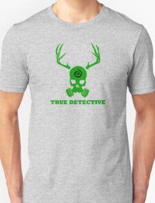True Detective - Gas Mask - Green T-Shirt