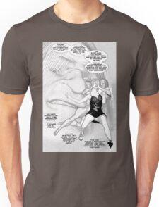Faith Fallon Graphic Novel Page © Steven Pennella Unisex T-Shirt
