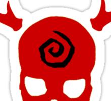 True Detective - Gas Mask - Red Sticker