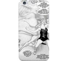 Faith Fallon Graphic Novel Page © Steven Pennella iPhone Case/Skin