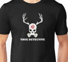 True Detective - Gas Mask - White Unisex T-Shirt