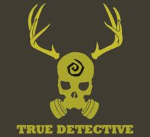 True Detective - Gas Mask - Yellow T-Shirt