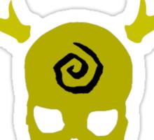 True Detective - Gas Mask - Yellow Sticker