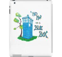 Mad Man with a Blue Box iPad Case/Skin