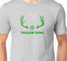 True Detective - Yellow King Antlers - Green Unisex T-Shirt