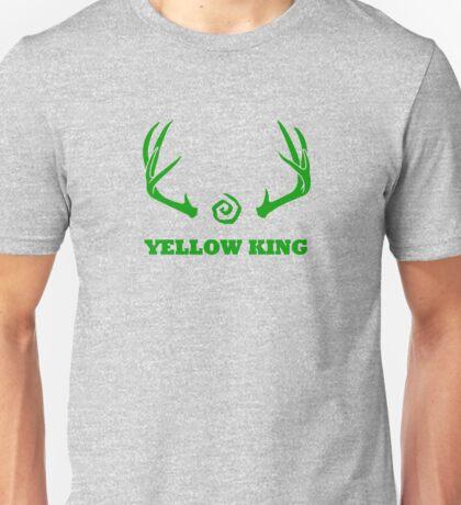 True Detective - Yellow King Antlers - Green Unisex T-Shirt