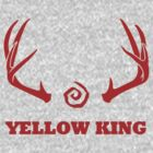True Detective - Yellow King Antlers - Red by Prophecyrob