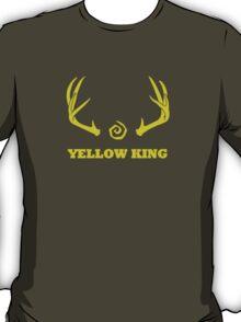 True Detective - Yellow King Antlers - Yellow T-Shirt