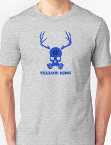 True Detective - Yellow King Gas Mask - Blue T-Shirt