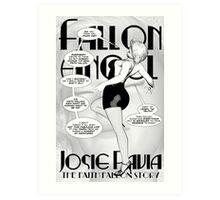 Faith Fallon Graphic Novel Page © Steven Pennella Art Print