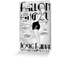 Faith Fallon Graphic Novel Page © Steven Pennella Greeting Card