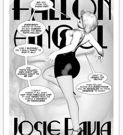 Faith Fallon Graphic Novel Page © Steven Pennella Sticker