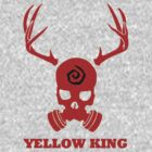 True Detective - Yellow King Gas Mask - Red by Prophecyrob