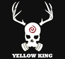 True Detective - Yellow King Gas Mask - White by Prophecyrob