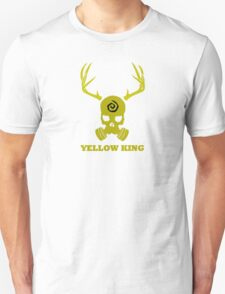 True Detective - Yellow King Gas Mask - Yellow T-Shirt