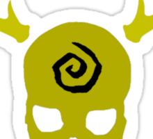 True Detective - Yellow King Gas Mask - Yellow Sticker