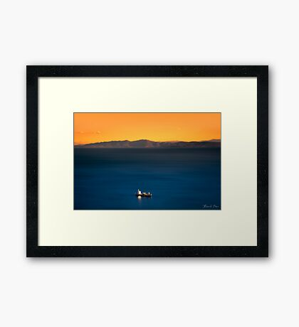 Colors of Nature Framed Print