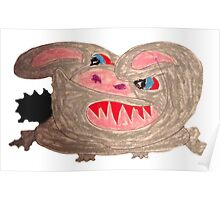 The Mad Rabbit Poster