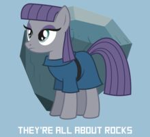 They're all about rocks - Maud Baby Tee