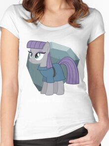 They're all about rocks - Maud Women's Fitted Scoop T-Shirt