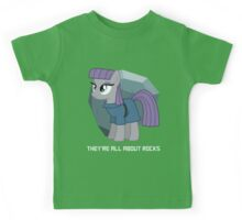 They're all about rocks - Maud Kids Tee