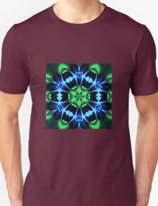 Blue Ring Rose Unisex T-Shirt