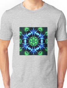 Blue Ring Rose Unisex T-Shirt