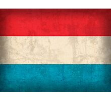Luxembourg Flag Photographic Print