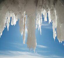 Ice Angel, Apostle Islands,WI by Michael Treloar