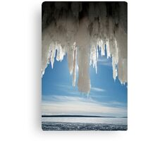 Ice Angel, Apostle Islands,WI Canvas Print