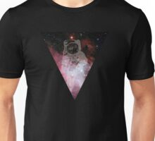 Astronaut in outer space Unisex T-Shirt