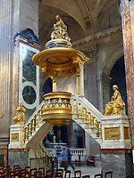 Pulpit - St Sulpice, Paris by bubblehex08