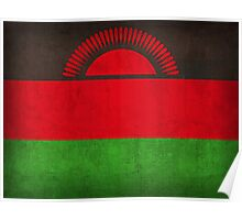 Malawi Flag Poster