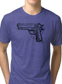 Graphic Pistol Tri-blend T-Shirt