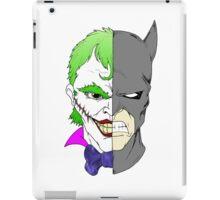 Joker side of Batman iPad Case/Skin