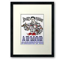 Knight in Shining Armor Framed Print