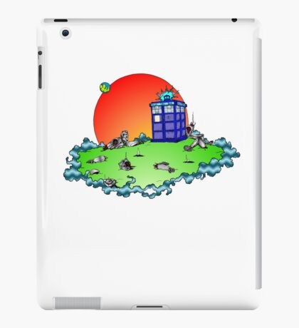 Cybermen vs The Tardis iPad Case/Skin
