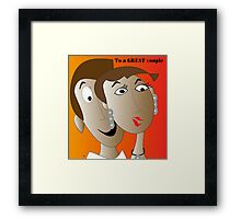A great Couple Framed Print
