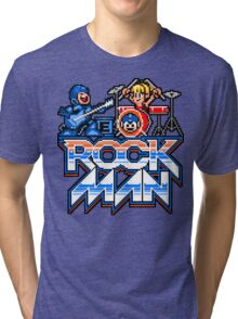 Rock, Man! Tri-blend T-Shirt