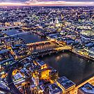 View from the Shard London by Ian Hufton