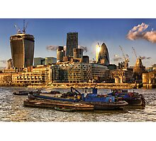 London City Skyline Photographic Print