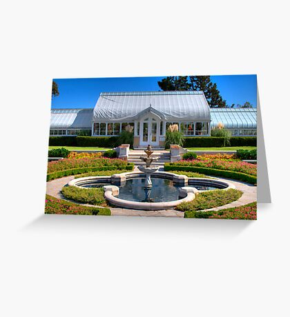 Tranquil Garden Greeting Card