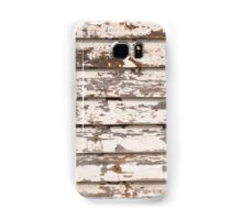 Grungy wooden background Samsung Galaxy Case/Skin