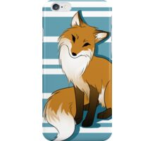 Sitting Fox iPhone Case/Skin